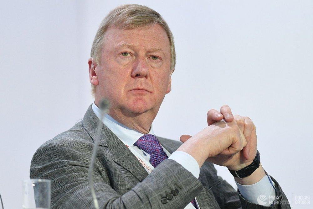 Чубайс резко ответил на критику Захаровой