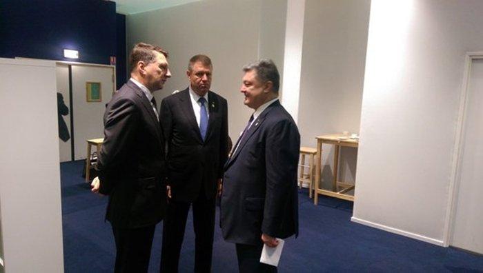 Президент Румынии щелкнул по…