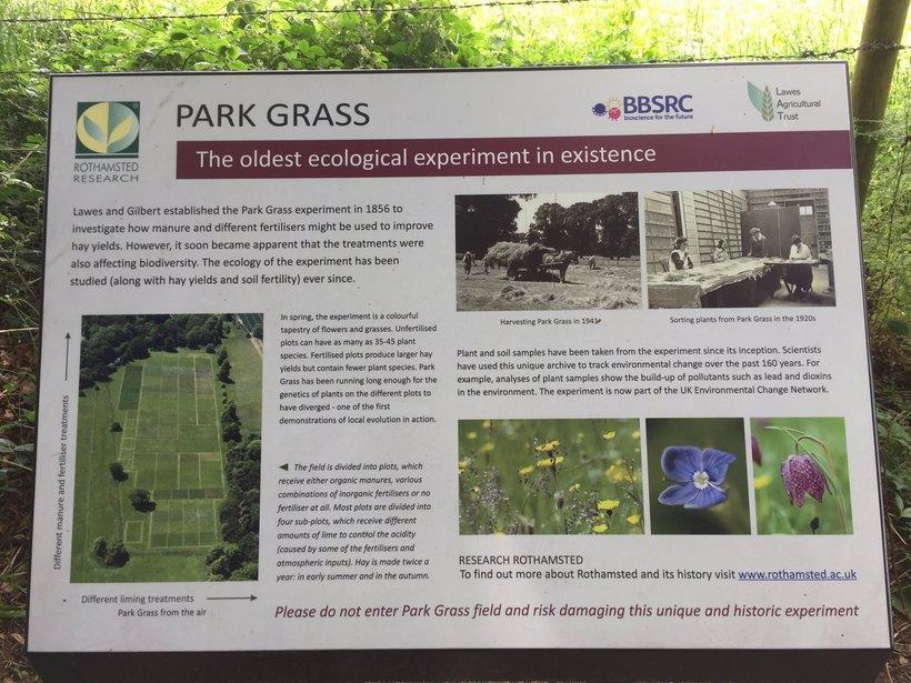 Парк Грасс: уникальный научный эксперимент, который продолжается более 160 лет