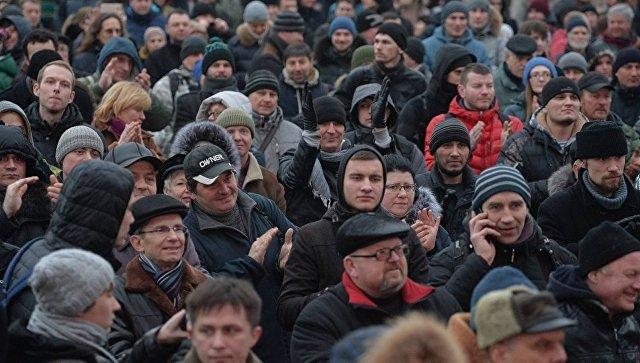 """В Минске проходит оппозиционный """"Марш рассерженных белорусов"""""""