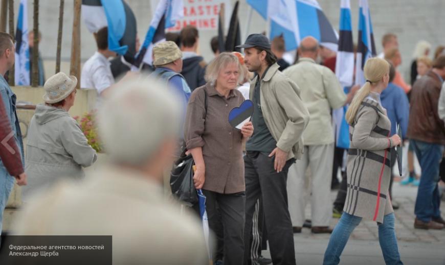 Запад через Эстонию выдвигает претензии на территорию России...
