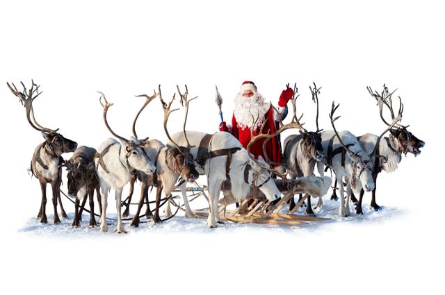 Транспорт Санта-Клауса.