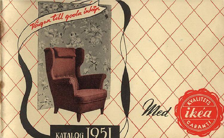 Эти обложки каталогов IKEA с 1951 по 2000 год демонстрируют, как люди хотели жить в те времена