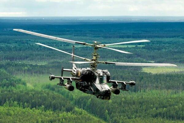 Вертолеты из СССР, знаменитый Ка 50 Чёрная акула