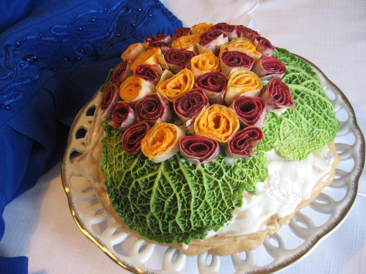 """Торт закусочный """"БУКЕТ"""" - по-светински!"""