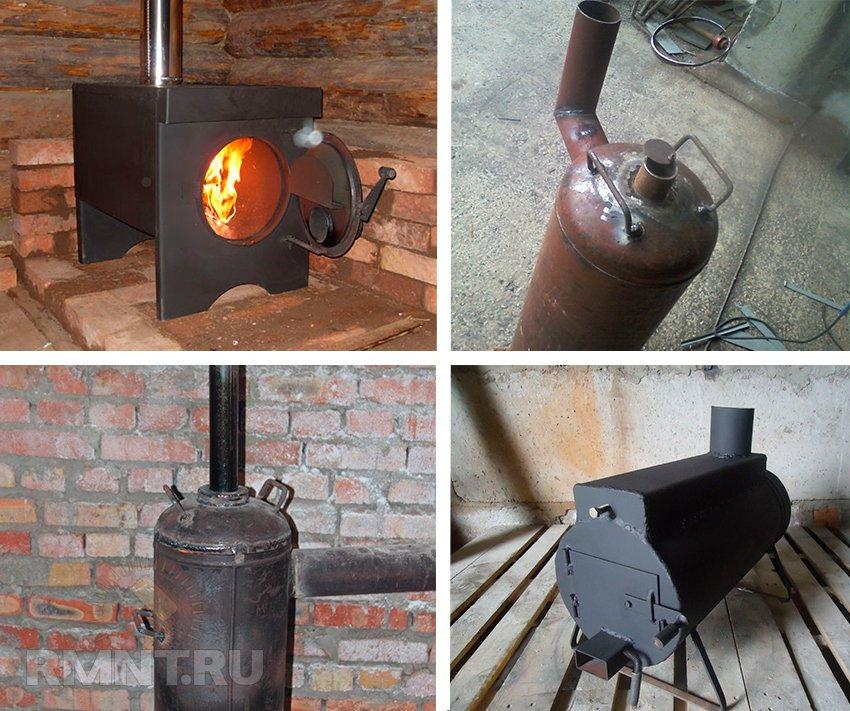 Буржуйки на дровах длительного горения