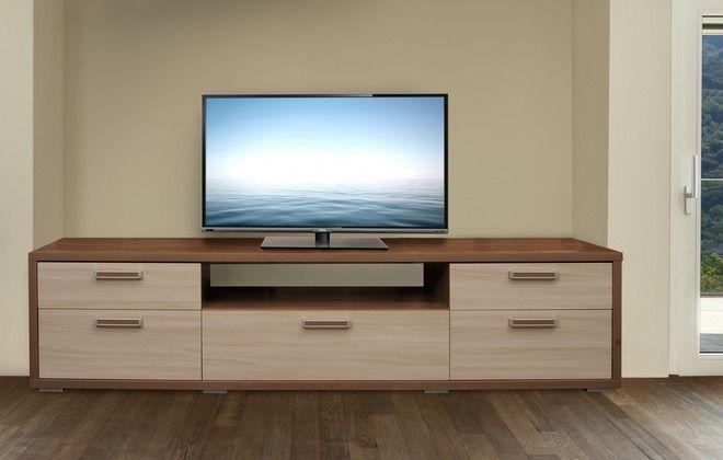 виды комодов под телевизор