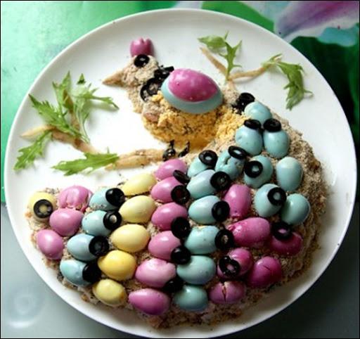 """Салат """"Райская птичка"""" - красивое обьеденье! Морковь по-корейски мгновенного приготовления"""