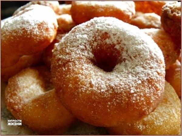 Как приготовить настоящие домашние пончики. Вкус, знакомый с детства