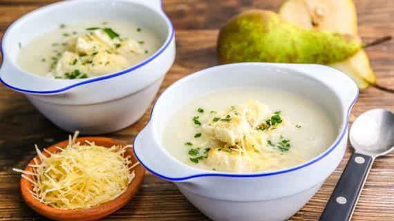 Очень вкусный чесночный суп. Блюдо, которое в 100 раз лучше антибиотиков!