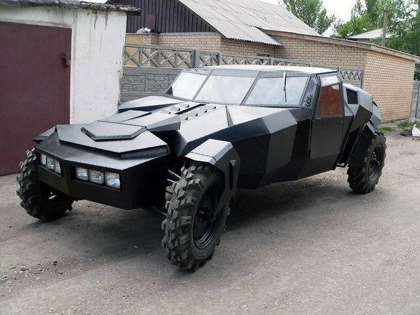 Уникальный самодельный внедорожник «Черный ворон»