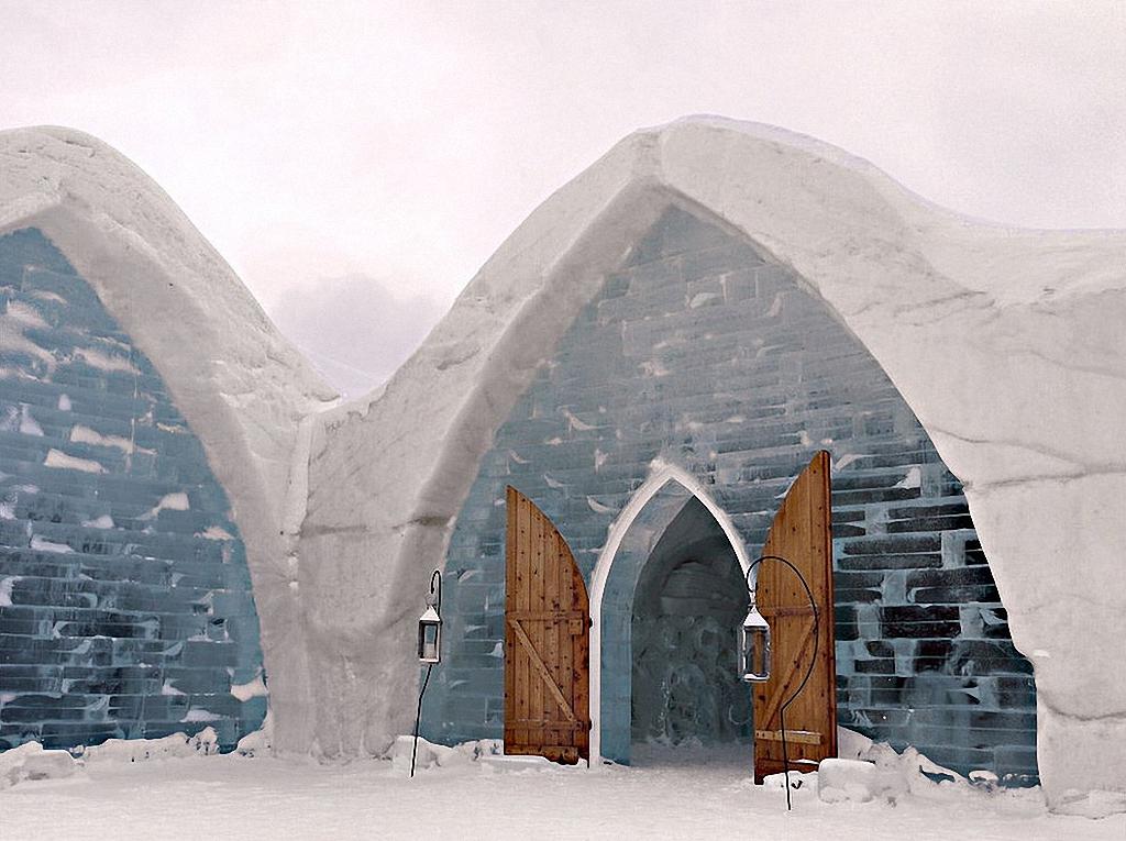 8 самых удивительных ледовых отелей мира-8