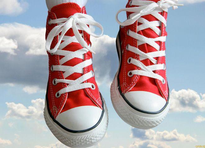 для хорошей фиксации кроссовок