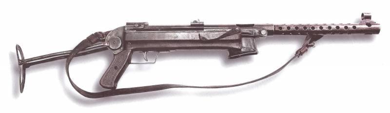 Партизанский пистолет-пулемёт «Ураган»