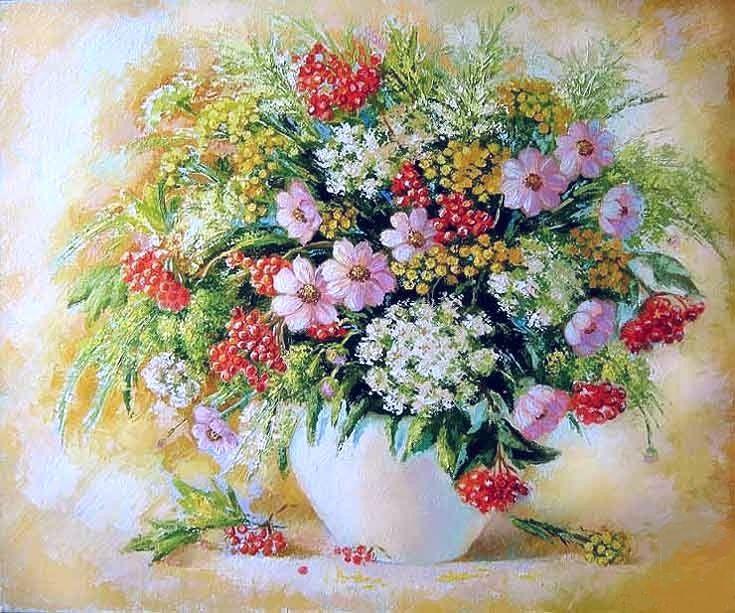 Создам букет из полевых цветов: Юлия Кулишенко