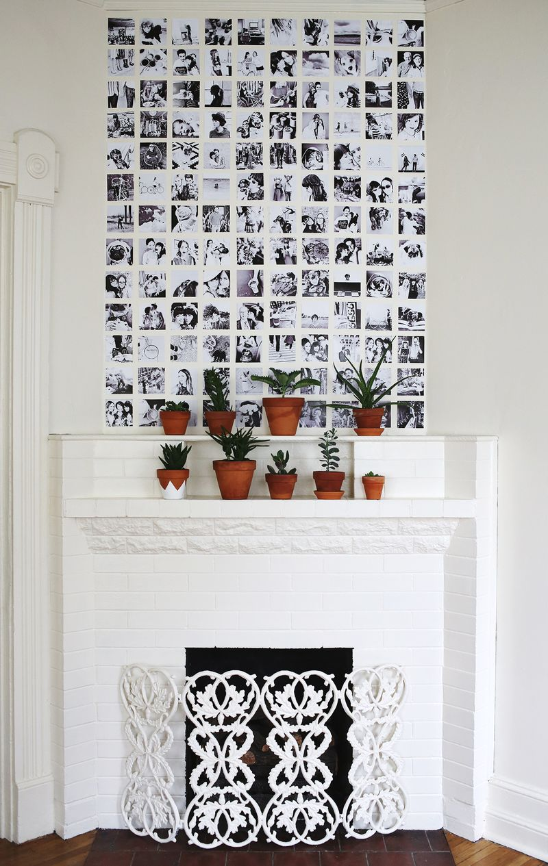grid-photo-wall-display-from-a-beautiful-mess