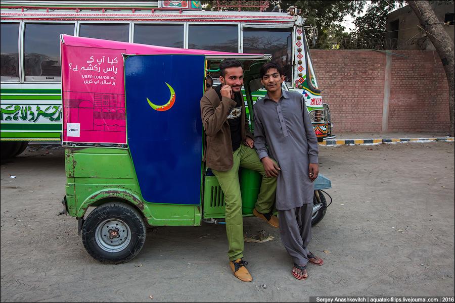 Uber по-пакистански