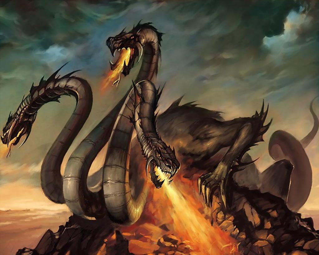Драконы жили на Руси или Россия родина крокодилов ?