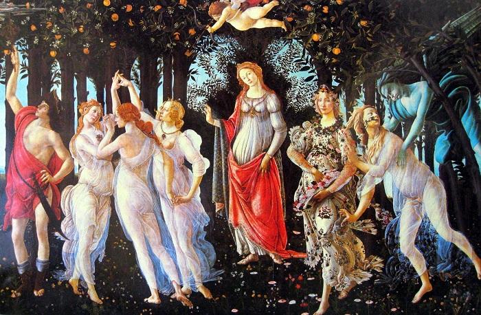 «Весна» Сандро Боттичелли: скрытый смысл шедевра эпохи Возрождения