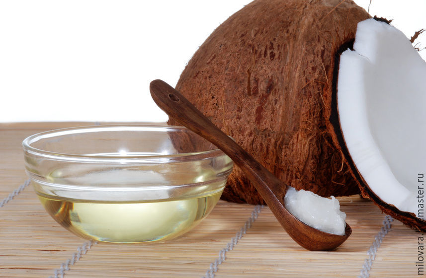 масло кокоса, мастер-класс масло кокоса