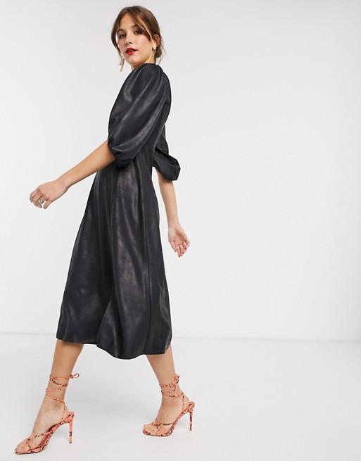 Самые модные платья-миди для Новогоднего корпоратива: варианты на любую фигуру