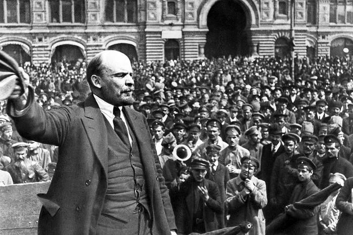 Фотохроника октября 1917