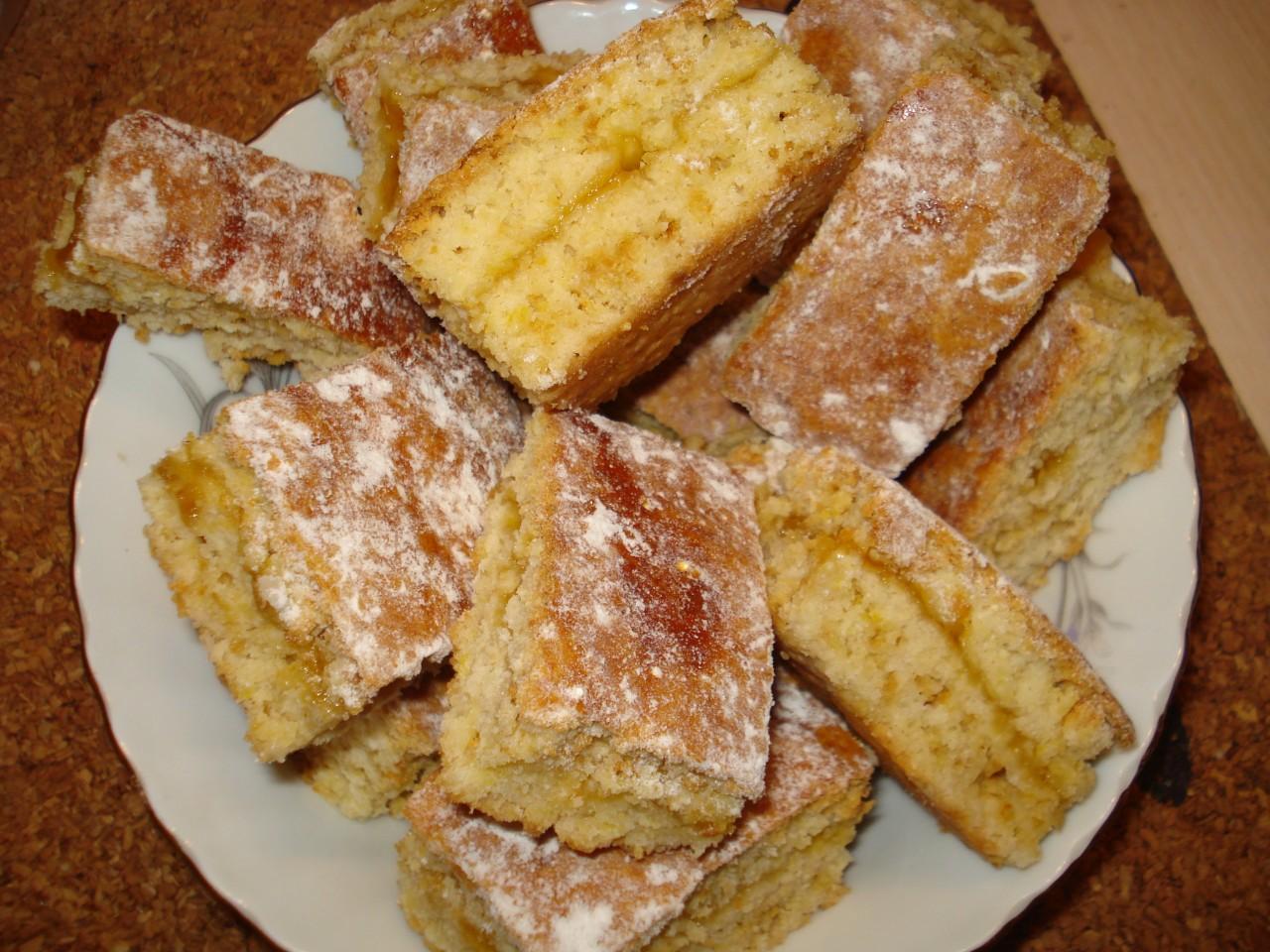 Печенье на скорую руку в духовке рецепт пошагово с вареньем