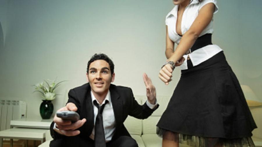 Муж стал подозревать жену....