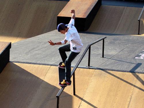 Скейтбординг стал олимпийским видом спорта