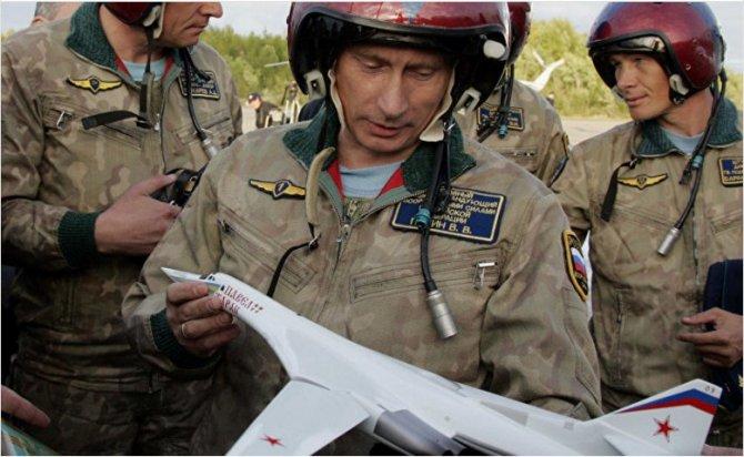 Российский «Белый лебедь» не дает покоя американским экспертам...Джордж Хаддад