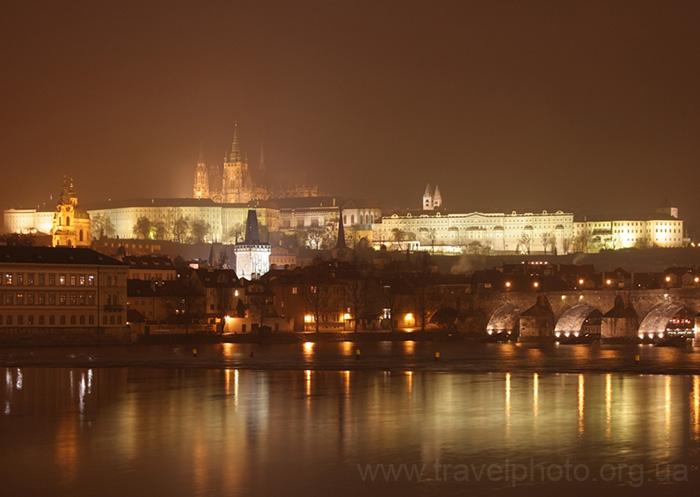 Мистическая Прага, ночные фото