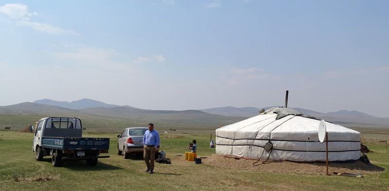 Жизнь в монгольской степи