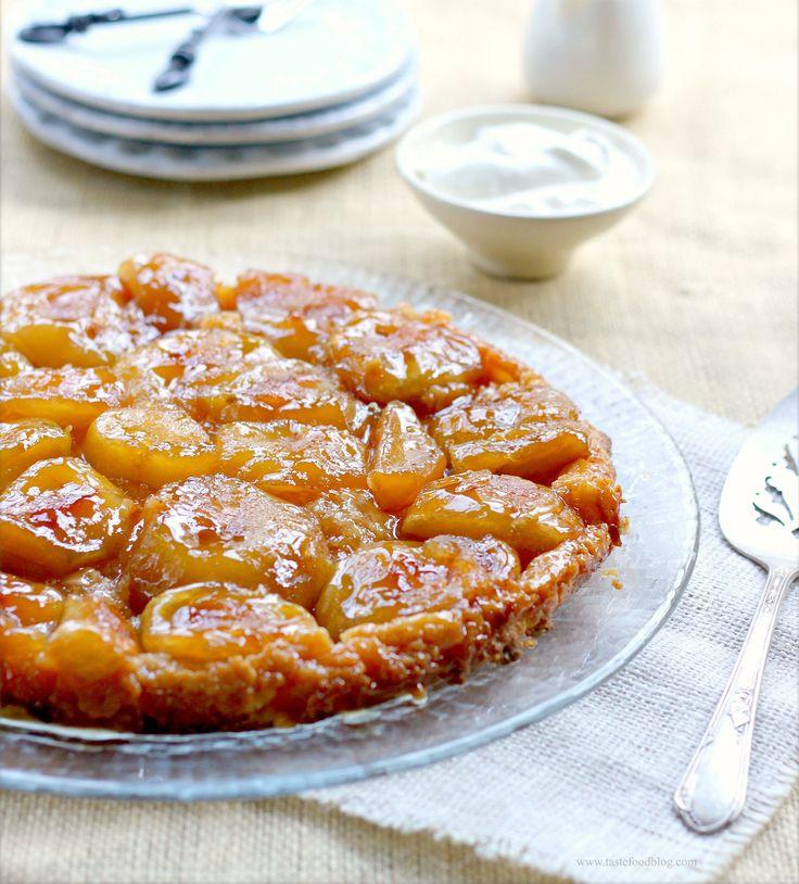 Яблочный пирог вверх дном