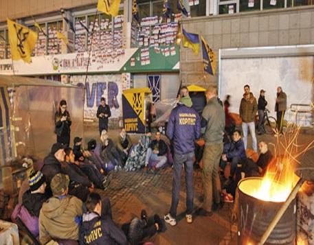 Украинские нацисты разблокир…