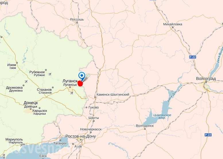 Силы самообороны Луганска «вскрыли» российско-украинскую границу