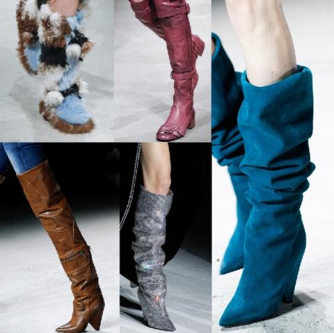 Модные женские сапоги Осень-Зима 2017-2018