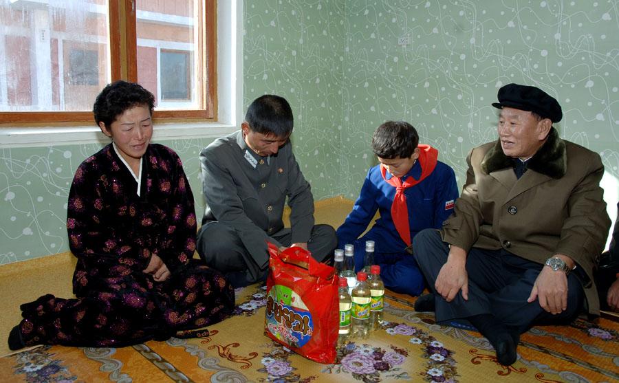 В квартире людей в северной кореи видео