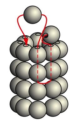 Колье спиральный жгут.