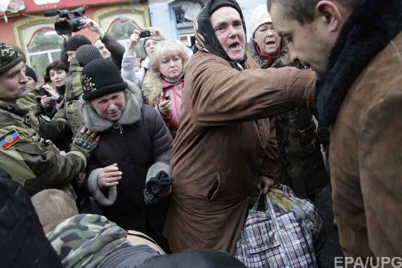 На украинском ТВ донецких стариков объявили сумасшедшими