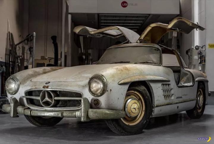 Клад из амбара – Mercedes-Benz 300SL Gullwing