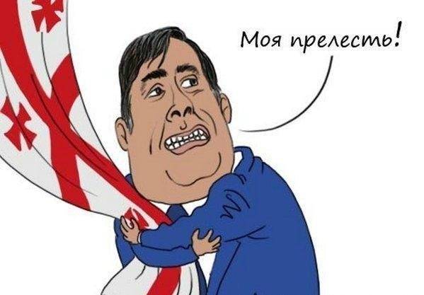 Саакашвили готовит смуту в Тбилиси с помощью своего однокурсника - Порошенко