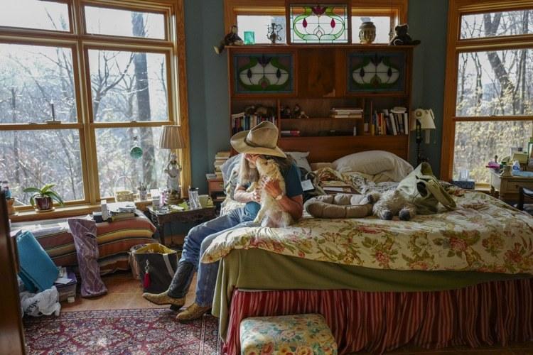 Американцы в своих спальнях