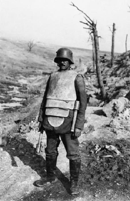 Бронекостюмы Первой мировой войны