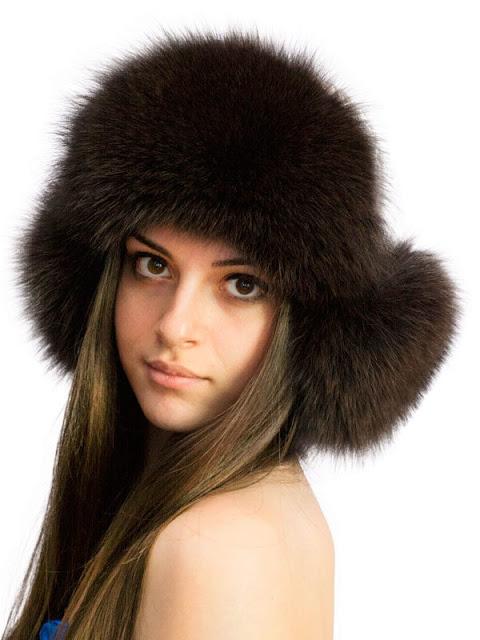Выкройки женских шапок - ушанок