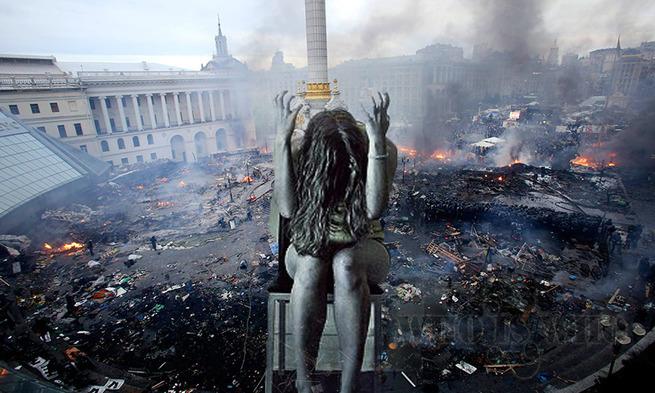 У разбитого корыта Евромайдана