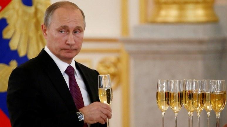Bloomberg: «Путин – если не человек, то уж точно тролль года»