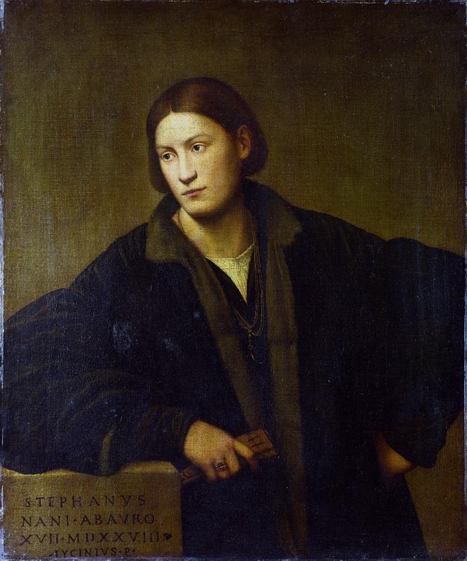 Bernardino Licinio - Portrait of Stefano Nani. Национальная галерея, Часть 1