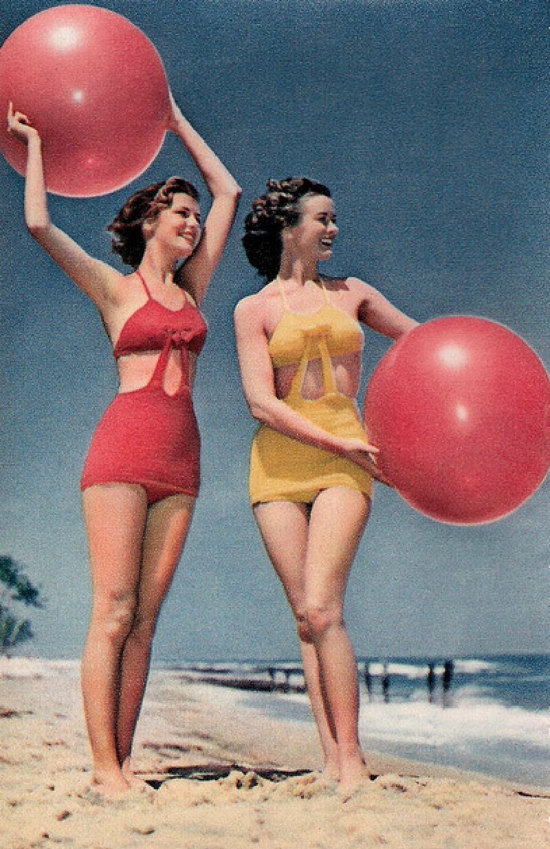купальники 40-х годов