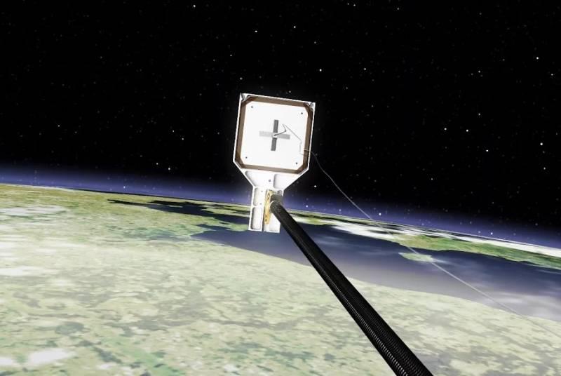 На орбите Земли испытали первый спутник-уборщик