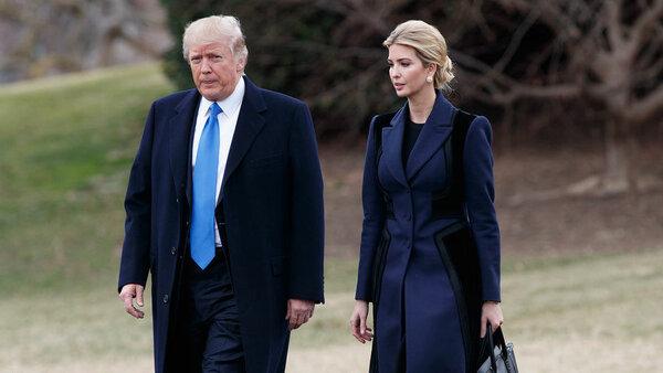 Скандал в семье Трампов: Иванку в президенты, а бюджет на всех?
